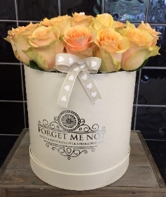 Peach Sundae Luxury Hatbox